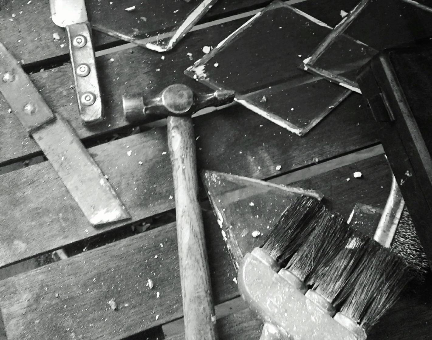 Cut Glass Diamonds
