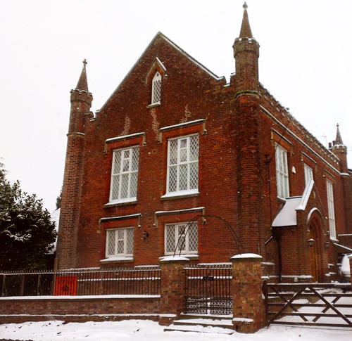 The Chapel in the Snow