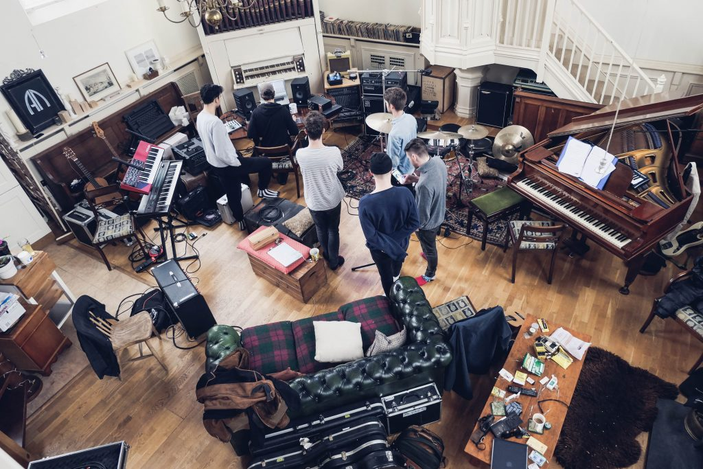 Main Room Recording