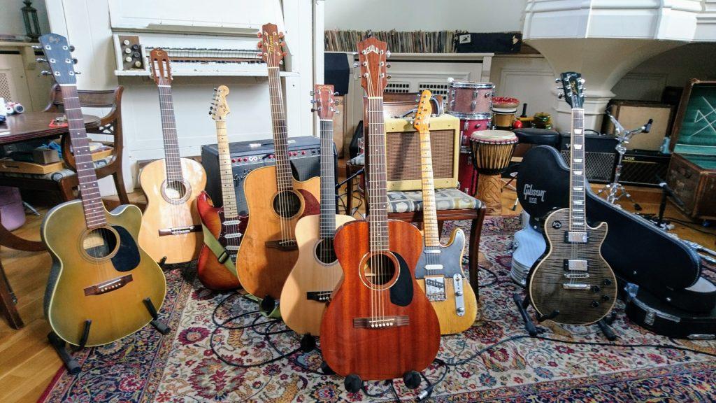 Tom Dibb Session - Guitars
