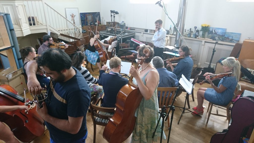 Chamber Orchestra Recording