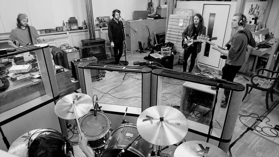 Recording at Grand Chapel Studios