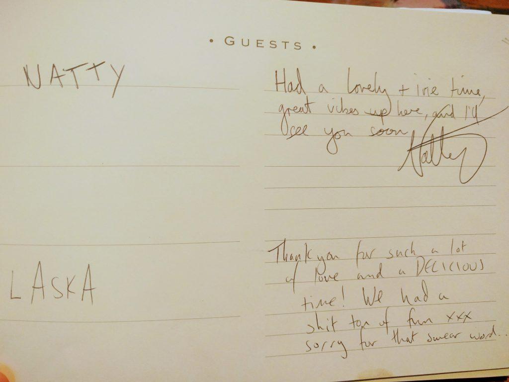 Natty Laska Guestbook
